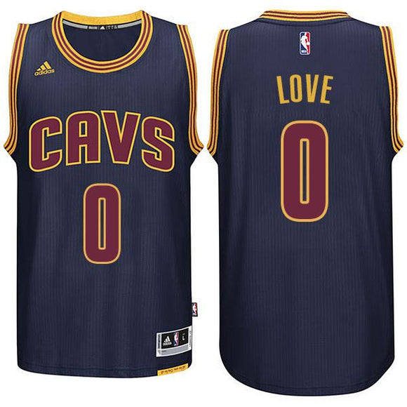 Cavaliers Kevin Love #0 Navy Blue