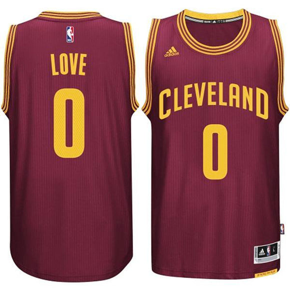 Cavaliers Kevin Love #0 Red