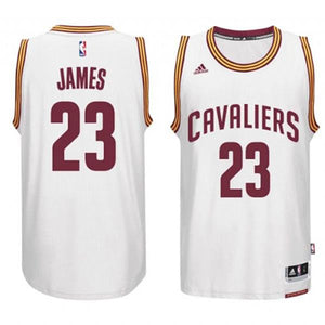 Cavaliers LeBron James #23 White