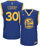 Warriors Stephen Curry #30 Blue