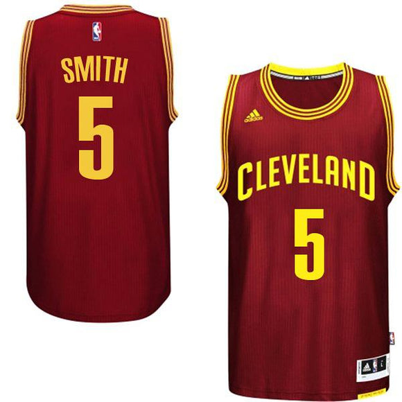 Cavaliers J. R. Smith #5 Red
