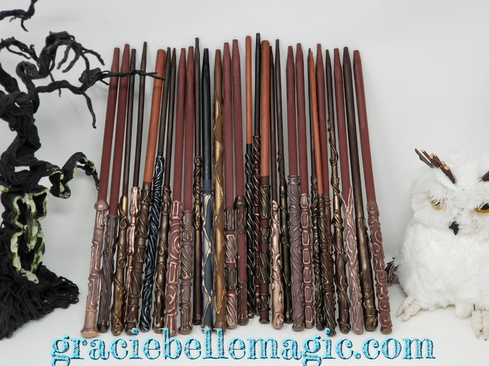 Harry Potter Inspired Party Wands - Earth and Metal