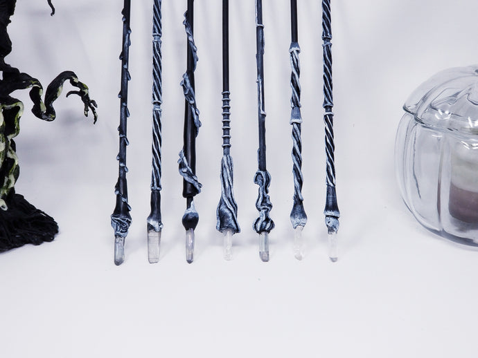 Harry Potter Inspired Party Wands - Black and White