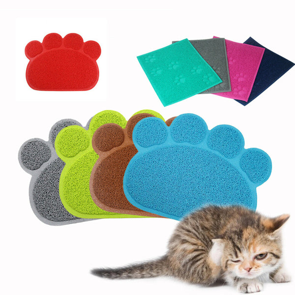 Large Paw Shaped Placemat - 4 Colors to Choose From!