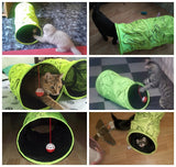 Interactive Cat Tunnel - For Playful Cats & Kittens!