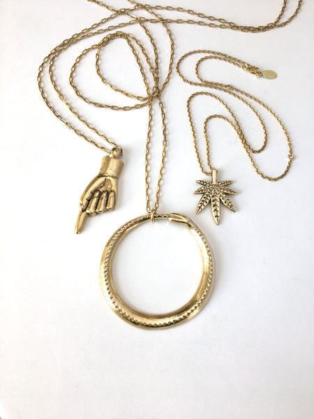 The Seeker *New Gold Chain Option*