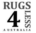 Rugs 4 Less Australia logo. Rugs 4 Less sell rugs online in Australia.
