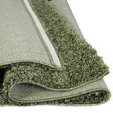 Astro Green Shag Rug in Size 160cm x 230cm-Rugs 4 Less