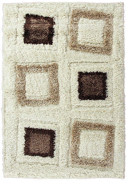 Bolero 9421A-ubx Cream Extra Large Rug in Size 240cm x 340cm-Rugs 4 Less
