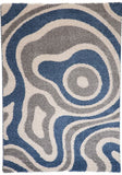 Cabana Rug 891 Blue-Silver 160x230cm by Rugs4Less