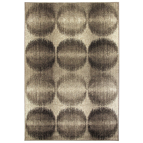 Casa S920 Brown Rug in Size 160cm x 230cm-Rugs 4 Less