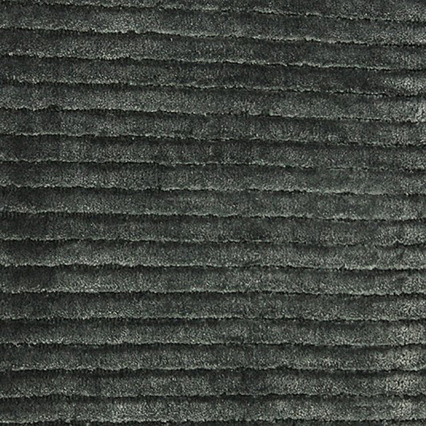 Cashmere Wool-Silk Rug Charcoal in Size 160cm x 230cm-Rugs 4 Less