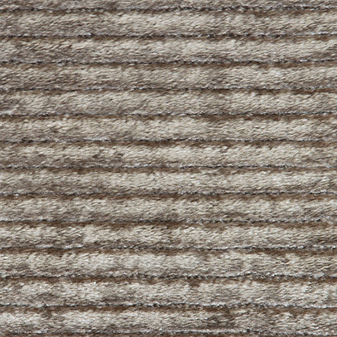 Cashmere Large Wool Silk Rug Taupe in Size 200cm x 300cm-Rugs 4 Less
