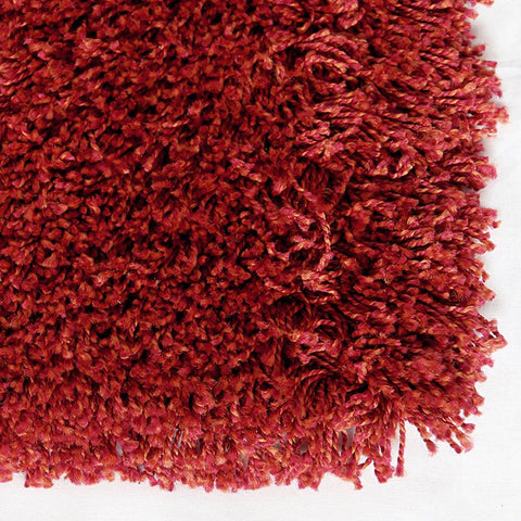 Cosmic Burgundy Small Shag Rug 120x160cm-Small Shag Rug-Rugs 4 Less