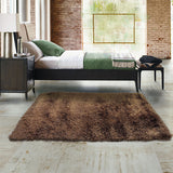 Desire Copper Small Shag Rug 110x160cm-Small Shag Rug-Rugs 4 Less