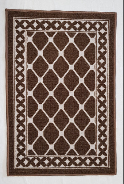 DM40 Ozzie Door Mat Brown 50cm x 75cm