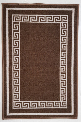 DM50 Ozzie Hallway Runner Brown 67cm x 294cm
