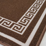 DM50 Ozzie Kitchen Mat Brown 57cm x 110cm