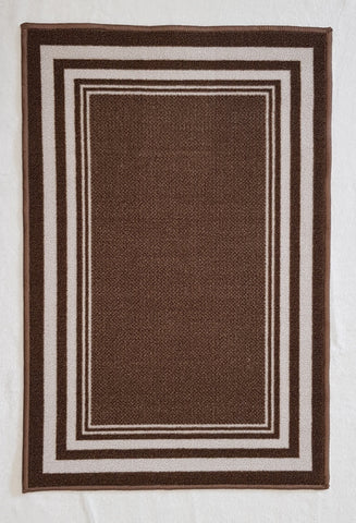 DM60 Ozzie Hallway Runner Brown 67cm x 294cm
