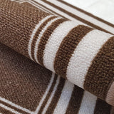 DM60 Ozzie Door Mat Brown 50cm x 75cm