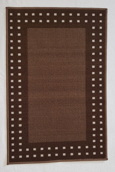 DM70 Ozzie Kitchen Mat Brown 57cm x 110cm