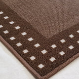 DM70 Ozzie Hallway Runner Brown 67cm x 180cm