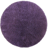 Drylon Round Mat Purple in Size Round 90cm | Large Round Bath Mat