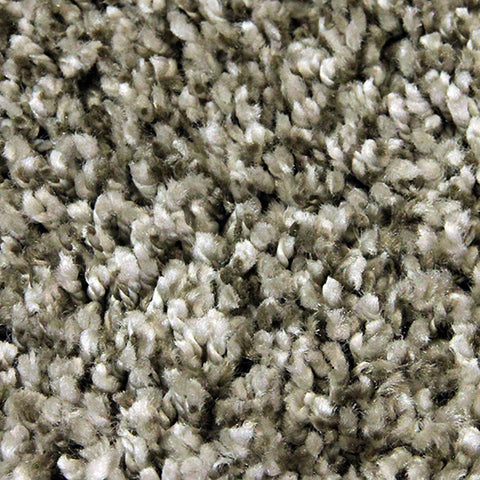 Lush Grey Small Shag Rug in Size 120cm x 170cm-Rugs 4 Less