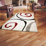 Monte-Carlo 8590A Cream Rug in Size 160cm x 230cm-Rugs 4 Less