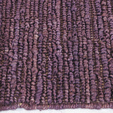 Morocco Jute Rug Aubergine in Size 160cm x 230cm-Rugs 4 Less