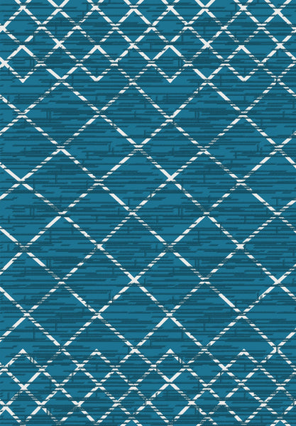 Metro 302 Small Rug in Blue Colour | Cheap Small Rug Brisbane