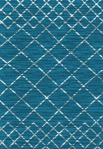 Metro 302 Rug in Blue Colour | Cheap Rug Brisbane