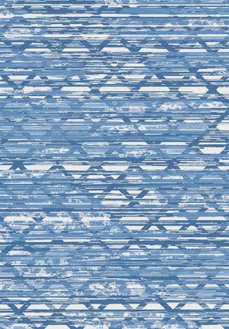 Metro 401 Rug in Blue Colour | Cheap Rug Brisbane