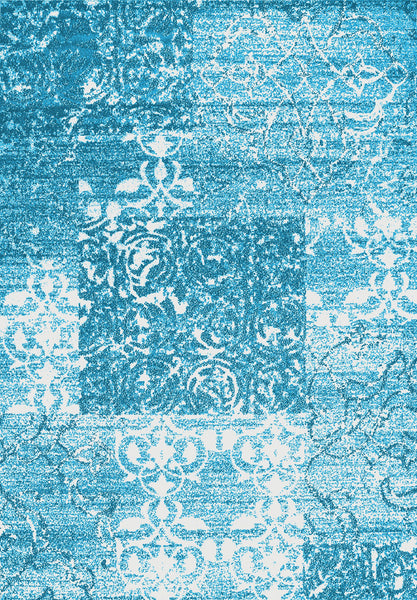 Metro 502 Large Rug in Blue Colour | Cheap Large Rug Brisbane