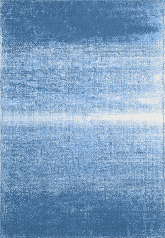 Metro 601 Blue Rug in Size 160cm x 230cm-Rugs 4 Less