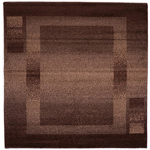 Milano 760 Brown Large Mat in Size 80cm x 130cm