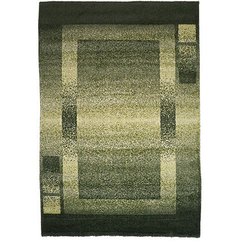 Milano 760 Green Large Rug in Size 200cm x 290cm-Rugs 4 Less