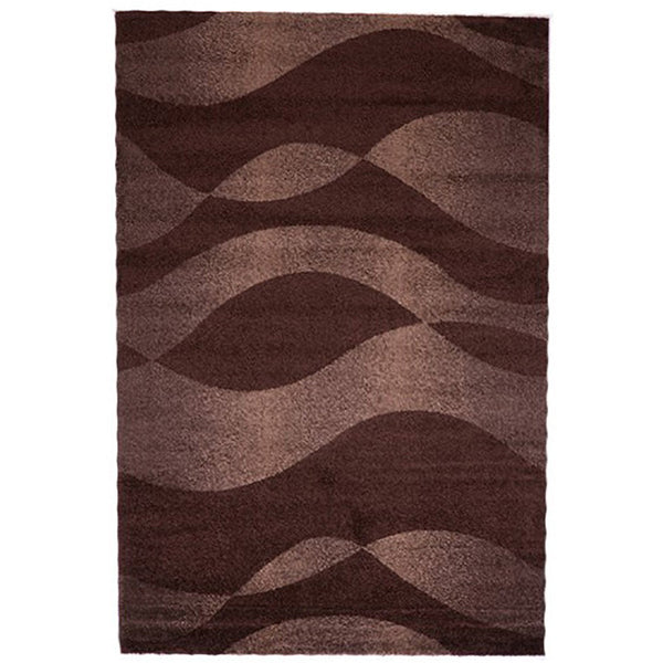 Milano 789 Brown Small Modern Rug in Size 120cm x 170cm-Rugs 4 Less