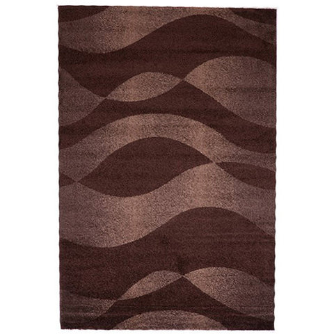 Milano 789 Brown Large Mat in Size 80cm x 130cm