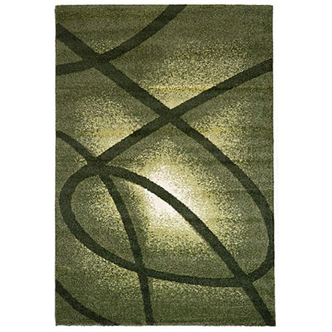 Milano 790 Green Large Mat in Size 80cm x 130cm