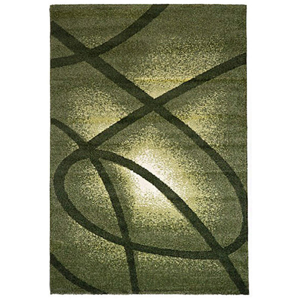 Milano 790 Green Large Mat in Size 80cm x 130cm-Rugs 4 Less