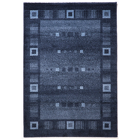 Milano 815 Blue Large Rug in Size 200cm x 290cm-Rugs 4 Less