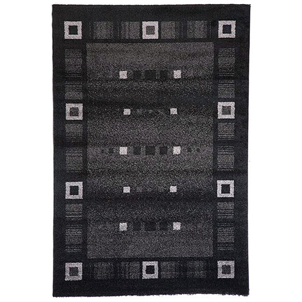 Milano Rug 815 Black 240x340cm by Rugs4Less