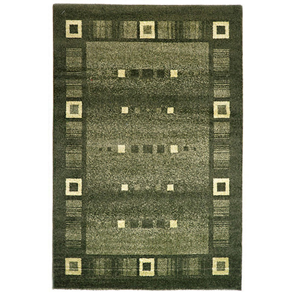 Milano Rug 815 Green 80x130cm by Rugs4Less