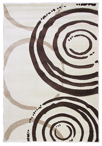 Monte-Carlo 7687A Cream-FD Large Mat in Size 80cm x 130cm-Rugs 4 Less