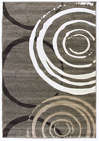 Monte-Carlo 7687A Fume-FB Large Mat in Size 80cm x 130cm-Rugs 4 Less