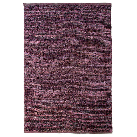 Morocco Jute Rug Aubergine in Size 200cm x 300cm-Rugs 4 Less