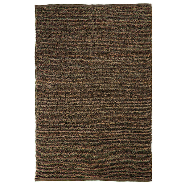 Morocco Extra Large Jute Rug Brown in Size 250cm x 350cm-Rugs 4 Less