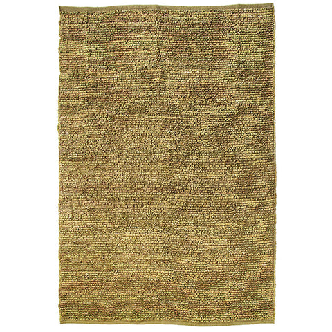 Morocco Large Jute Rug Moss-Green in Size 200cm x 300cm