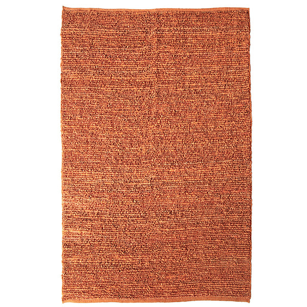 Morocco Jute Rug Orange 250x350cm by Rugs4Less